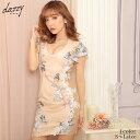 キャバ ドレス サイド ヌーディ エアリー フラワー タイト ミニ ドレス | ドレス キャバ キャバドレス 大きいサイズ …