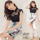 キャバ ドレス ダイナミック ビューティー フラワー タイト ミニ ドレス | ドレス キャバ キャバドレス 大きいサイズ …