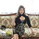 【送料無料】 キャバ ドレス カット アウト レース タイト ミニ ドレス[Alice] | ドレス キャバ キャバドレス 大きい…