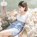 キャバ ドレス エンリケ着用 フロント ジップ フリル ペプラム タイト ミニ ドレス | ドレス キャバ キャバドレス 大…