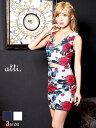 【送料無料】【あす楽】ドレス キャバドレス ナイトドレス 大きいサイズ ☆[S/M/Lサイズ]Vカット谷間見せウエスト見せ…