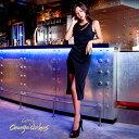キャバ ドレス アシメ デザイン タイト ミニ ドレス [change clothes]| ドレス ワンピース ドレス 膝丈 キャバ セクシ…