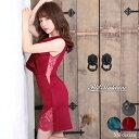 キャバ ドレス フリル ワンカラー 透け レース タイト ミニ ドレス [Petit Madeleine]| ドレス キャバ キャバドレス …