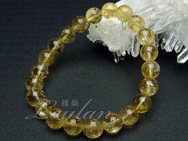 シトリン(黄水晶)8mmAAA【和龍ブレス 2100-08-310-0】天然石 パワーストーン ブレスレット ブレス