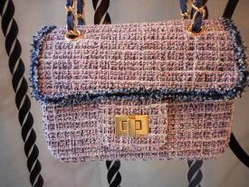 ツイード ミニショルダーバッグ レディース ギフト プレゼント ミニバッグ 小物 かわいい 大人っぽい 斜め掛け かばん ショルダーバッグ 冬物