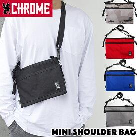 CHROME / クローム MINI SHOULDER BAG ミニショルダーバッグ(サコッシュ、ショルダーバック)