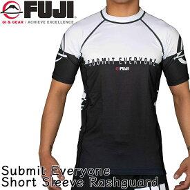 FUJI ラッシュガード Submit Everyone Short Sleeve Rashguard(MMA,総合格闘技,マーシャルアーツ,グラップリング,ブラジリアン柔術,柔術衣)