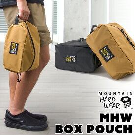 MOUNTAIN HARDWEAR / マウンテンハードウェア ボックス ポーチ/MHW Box Pouch(ハンドポーチ、バッグインポーチ、スタッフサック)
