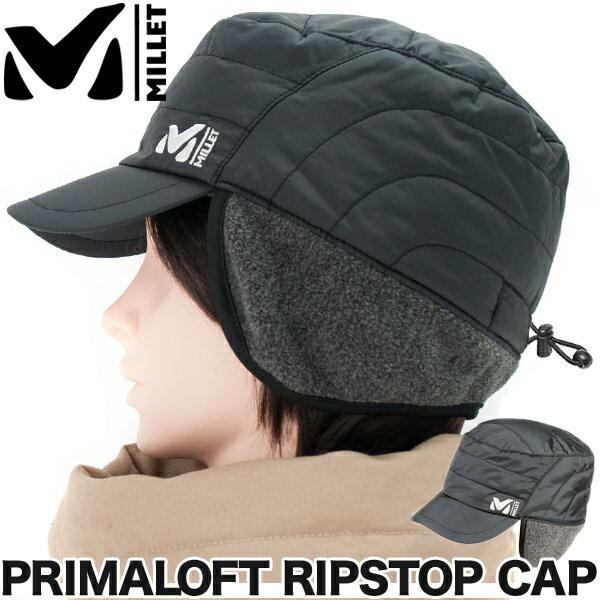 MILLET / ミレー プリマロフト リップストップ キャップ / PRIMALOFT RS CAP(防寒帽、耳当て付き、男性、女性、登山・トレッキング)【あす楽_土曜営業】5000円以上送料無料 ポイント10倍