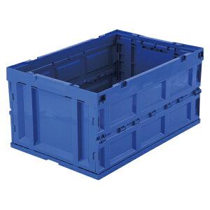[アイリスオーヤマ]ハード折りたたみコンテナ 本体 ブルー HDOC-75L ブルー