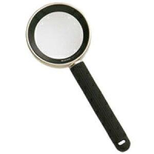 ニコン ルーペ 20D 5倍 [6倍] 48mm ハイグレード 読書用 虫眼鏡 拡大鏡 おしゃれ 弱視 携帯 携帯用ケース付き 手持ちルーペ 観察