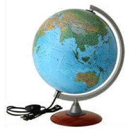 地球儀 ライト付き 子供用 学習 インテリア スペース30L 入学祝い 小学校 地勢図 球径30cm イタリア製 クリスマスプレゼント