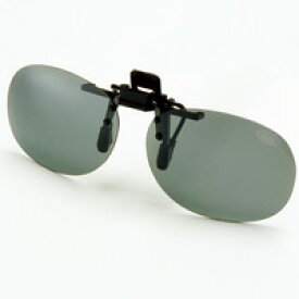AXE サングラス 偏光サングラス クリップサングラス AS-6P 偏光グラス ゴルフ UV カット 跳ね上げ メガネの上からサングラス
