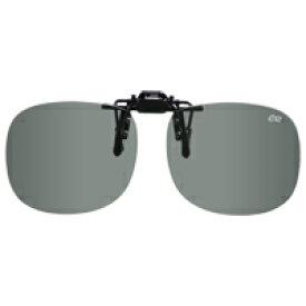 偏光サングラス クリップサングラス BV-21 偏光ライトグレー エロイコ 偏光グラス ゴルフ UV カット 跳ね上げ メガネの上からサングラス