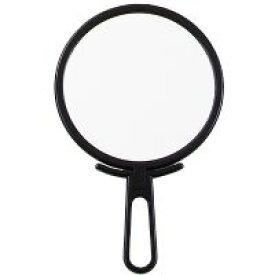 ハンドミラー [手鏡] 折立ハンドミラーL ブラック