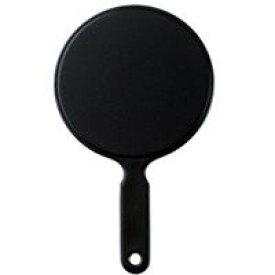 ハンドミラー [手鏡] L ブラック ミラー ハンドミラー 鏡 手鏡 丸型 シンプル 可愛い 売れ筋