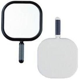 大型 ハンドミラー [鏡] 角型 [サロン プロ 仕様] 持ちやすい グリップ リビエール 【ミラー ハンドミラー 鏡 手鏡 角型 美容院 ヘア・サロン 売れ筋】