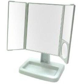 卓上 三面鏡 ヤマムラ 卓上ミラー スタンドミラー [鏡] 回転式 アイメイクに便利 クリスマスプレゼント