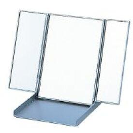 卓上 三面鏡 ヤマムラ 卓上ミラー スタンドミラー 折りたたみ コンパクトミラー [鏡] ビブレウィングミラー シルバー クリスマスプレゼント
