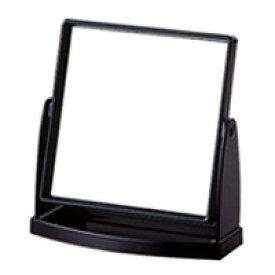 スタンドミラー ヤマムラ 卓上ミラー [鏡] トレー付き ブラック