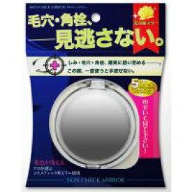 コンパクトミラー 拡大鏡 スキンチェック [鏡] 5倍 [拡大ミラー] 付き 売れ筋