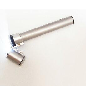 LED ライト付き ペン型顕微鏡 60倍 ZOOMY マイクロスコープ ポケット 小型顕微鏡 ペン型マイクロスコープ