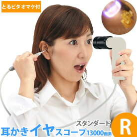【お買い物マラソン クーポン配布中】耳かき ライト イヤースコープ led ライト付 13000画素 R チタンコイル ののじ耳掻きよりよく取れる♪20本+電池付 コデン 耳の中 見る イヤスコープ