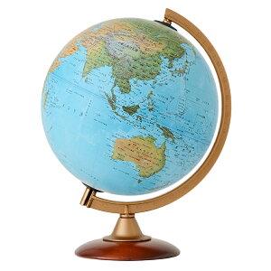 地球儀 インテリア 子供用 学習 地勢図 球径25cm 入学祝い 小学校 イタリア製