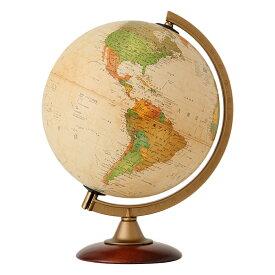 地球儀 インテリア アンティーク 子供用 学習 行政図 25cm イタリア製 クリスマスプレゼント