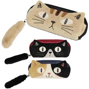 メガネケース 眼鏡ケース ノアファミリー ねこケース トリオキャット おしゃれ かわいい 女性 子供 プレゼント ギフト レディース めがねケース 猫