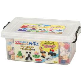 ブロック おもちゃ アーテックブロック ドリームセットベーシック 578PCS Artecブロック 日本製 ブロック 日本製 ゲーム 玩具 レゴ・レゴブロックのように自由に遊べます 室内