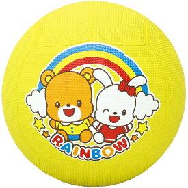 キッズドッジボール 約φ21cm おもちゃ 子供 外遊び キッズ 幼児 小学生 幼稚園 保育園 キャラクター くま うさぎ 玩具 男の子 女の子