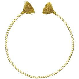 かんたん ねじりはちまき 金/白 ハチマキ 鉢巻 カラー 子供 体育祭グッズ 運動会 衣装 ダンス 小道具