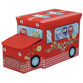 座れるくるま型ストレージボックス 収納 お片付け おもちゃ 箱 車型 かわいい たためる 男の子 女の子 知育玩具 お片付けボックス