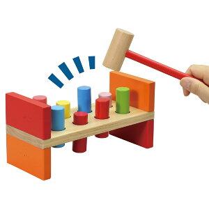 木製ハンマートイ 木のおもちゃ 女の子 男の子 知育玩具 2歳 3歳 4歳 出産祝い ベビー用 こども 室内 遊び ゲーム 叩くおもちゃ