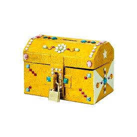 貯金箱 工作 キット 小学生 トレジャー貯金箱 おもしろ 体験 科学 工作 自由研究 宝箱 夏休み 低学年 かわいい