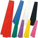 ハチマキ ロング カラー不織布 約40mm×3m 鉢巻 はちまき カラー 赤 青 白 黒 緑 紫 黄 桃 衣装 幼児 小学生 子供 運…