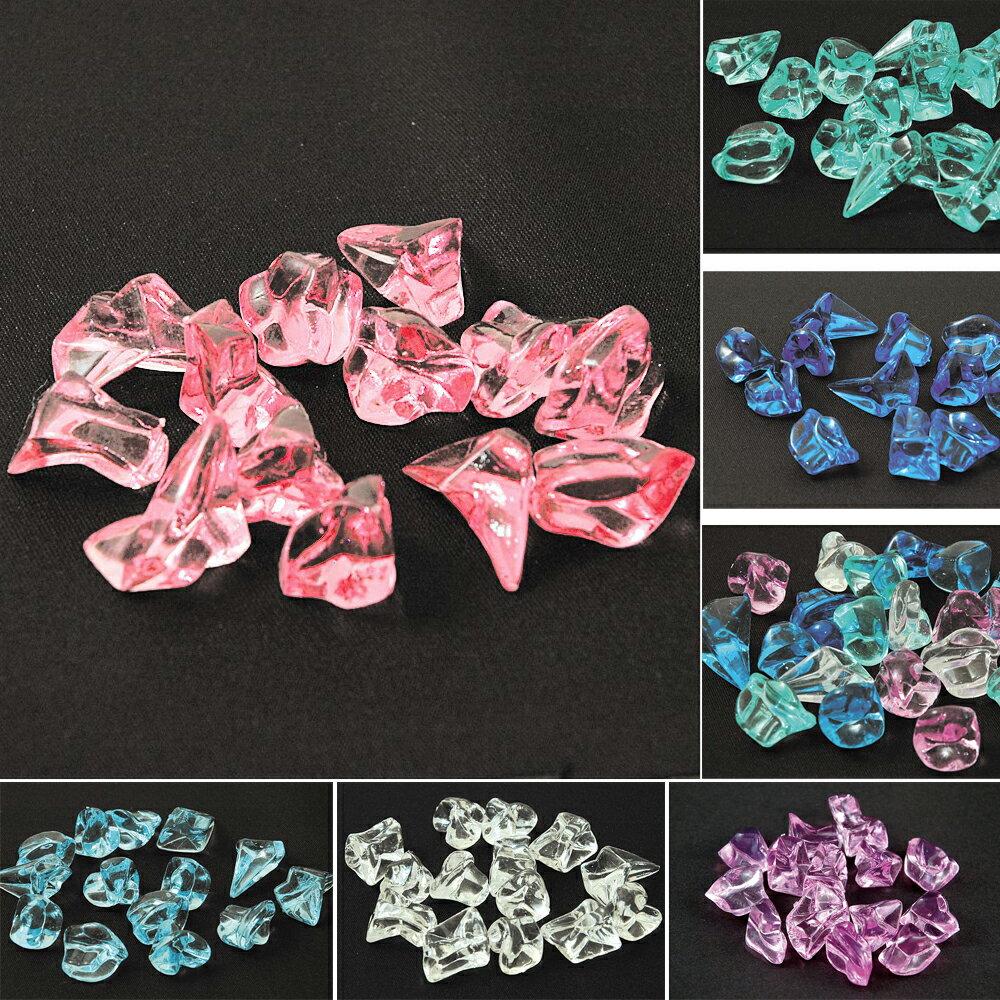 クラッシュアイス ロック 1kg おもちゃ 玩具 縁日 お祭り 屋台 景品 子供 プラスチック 装飾 宝石すくい 敷き詰め