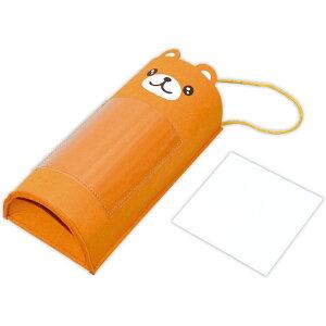 フェルトくまさんレジ袋ストッカー 収納 かわいい おしゃれ くま お絵かき 工作キット 図工 子供 プレゼント 記念品 手作り