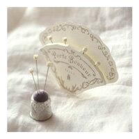 すずらんガラス待針 クロバー 手芸 裁縫道具 フランス 花 手芸道具 裁縫道具 趣味 ホビー クラフト