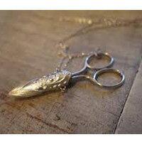 すずらん シザーケース クロバー 手芸 ケース付き 裁縫道具 フランス 花 手芸 クラフト 手作り はさみ 裁縫道具