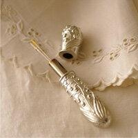 すずらん ニードルケース クロバー 手芸 ケース付き 裁縫道具 フランス 花 手芸道具 裁縫道具 趣味 ホビー クラフト