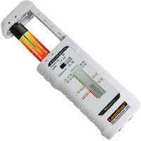 電池チェッカー パワーチェック UMAREX 乾電池 筒型 角型 ボタン型 コイン型 残量 ウマレックス