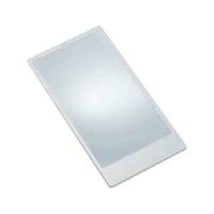 シートレンズ 019 2倍 78×150mm 手帳サイズ シート状ルーペ カードルーペ 拡大鏡 虫眼鏡 PVC製 池田レンズ