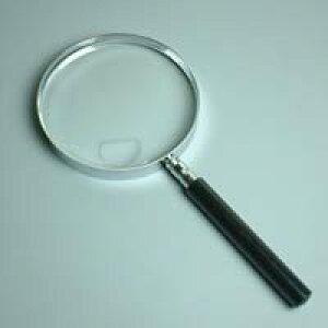 エボ柄ルーペ 1260-P 1.8倍&4倍 115mm プラスチックレンズ [手持ちルーペ 虫眼鏡 虫めがね 天眼鏡] 池田レンズ ルーペ 拡大鏡