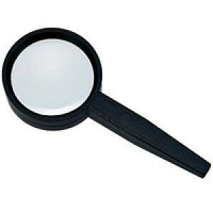 虫眼鏡 拡大鏡 非球面 高倍率ハンドルーペ AS-12 5倍 55mm 池田レンズ 虫めがね 拡大 弱視