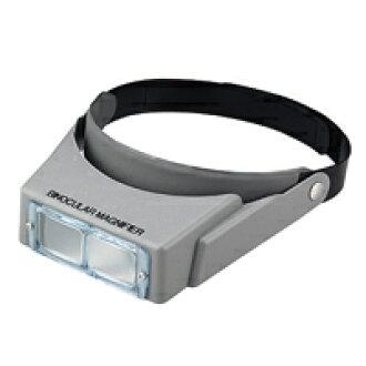 雙目頭 Lupe BM 115 W 2.3 x & 3.3 倍雙目放大鏡頭帶光池田鏡頭