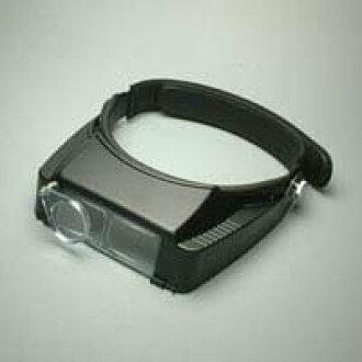 有雙眼腦袋放大鏡BM-120BE 2.3倍輔助透鏡的BE頭帶式池田透鏡