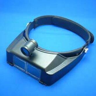 雙目頭繩索與 BM 120LC 2.7 x 頭帶池田透鏡光