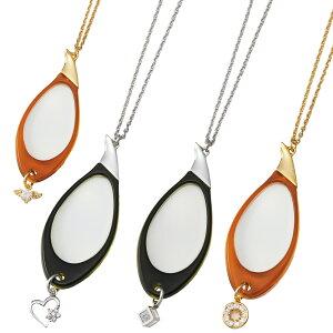 ルーペ 虫眼鏡 おしゃれ ペンダントルーペ 拡大鏡 3倍 おすすめ 女性 レディース プレゼント ネックレス 携帯 持ち運び